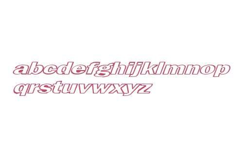 MaltfrankGothicHeavy HE Bold Italic