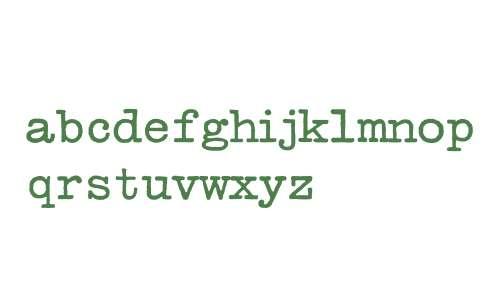 TypeWriterRomanConde