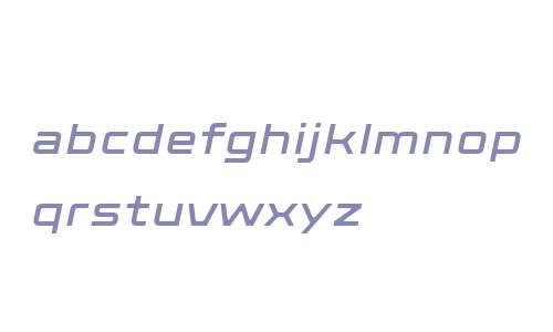 Axion W01 Italic