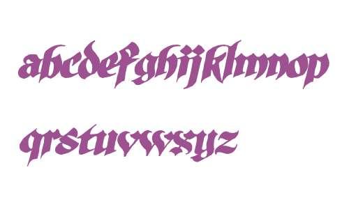 SilverBullet BB W00 Italic