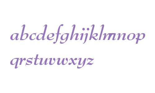 BernhardModURW Bold Italic