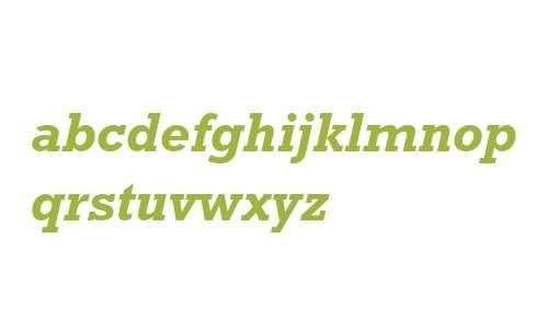 Rockwell Nova W10 Bold Italic