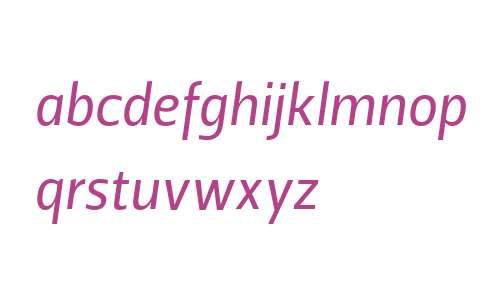 Leitura Sans W04 Italic 2