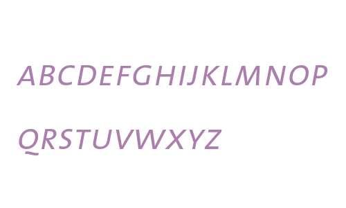 TheMix SemiLight- Caps Italic