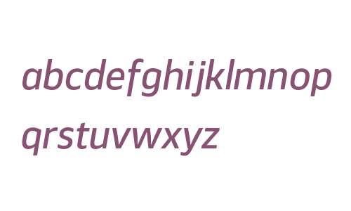 Webnar W00 Medium Italic