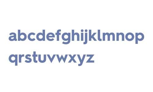 Hurme Geometric Sans 2 W01 Bold