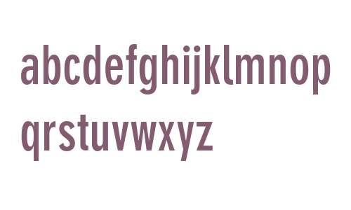 DIN 30640 Neuzeit Grotesk Bold Condensed