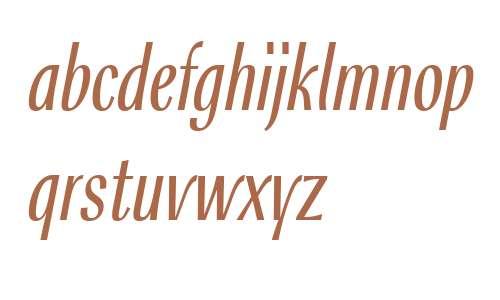 Rossika W01 Light Italic