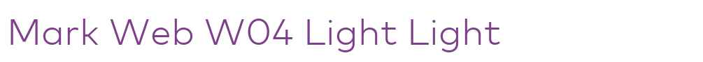 Mark Web W04 Light