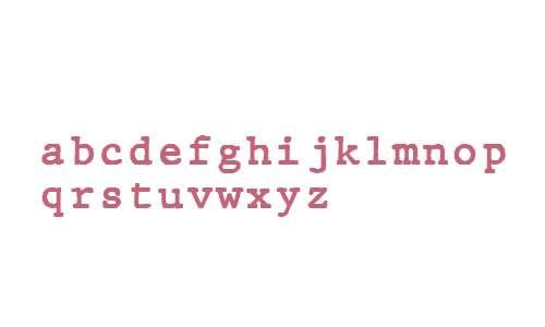 JMH Typewriter mono Regular