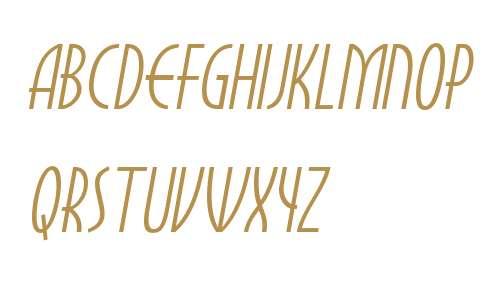 Myrna W01 Italic