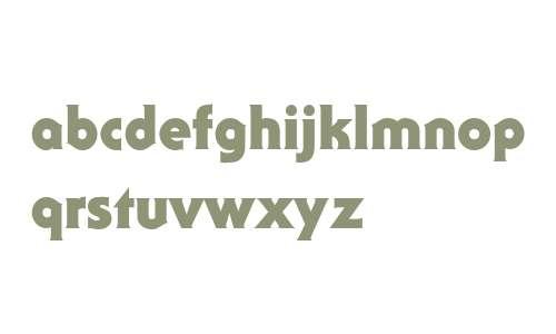 ITC Serif Gothic Std Black