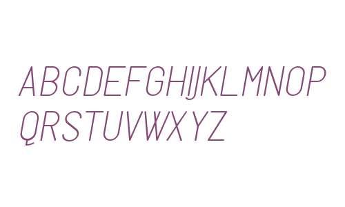 Milano Typeface V1