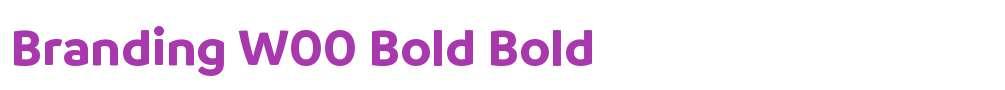 Branding W00 Bold
