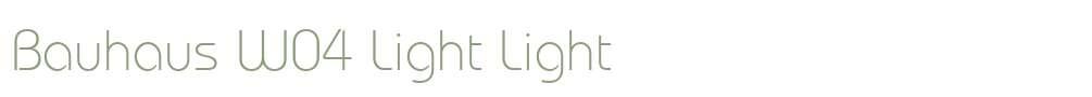 Bauhaus W04 Light