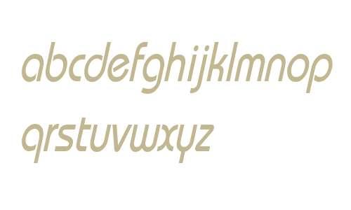 Bimini Condensed Italic