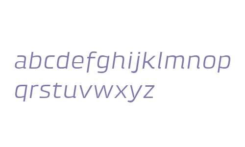 Klint W04 Extended Italic