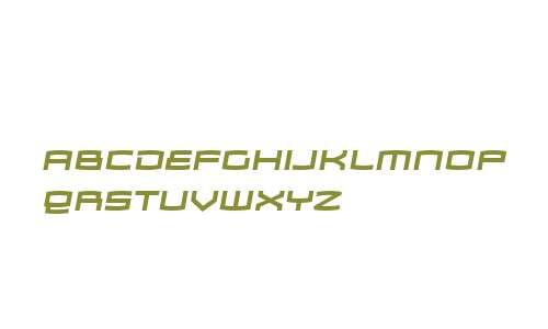 Zosma W00 Bold Italic