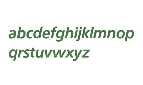 Frutiger* 66 Bold Italic