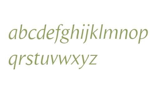 Beaulieu W01 Book Italic