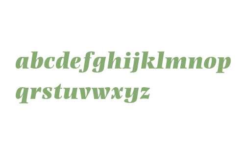 Photina MT Std Ultra Bold Italic