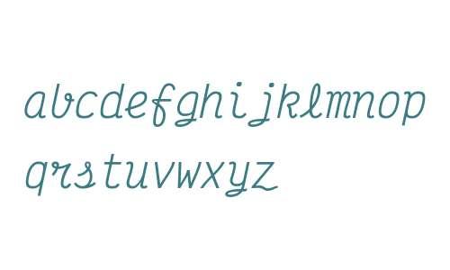 Victor Mono Italic