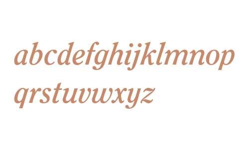 ITC Clearface Std Bold Italic