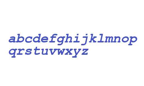 .VnCourier New Bold Italic