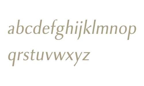 Combi Sans W01 Book Oblique