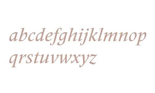 Frutiger Serif LT W02 Medium It