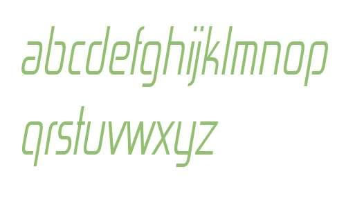 Zekton CdLt Italic