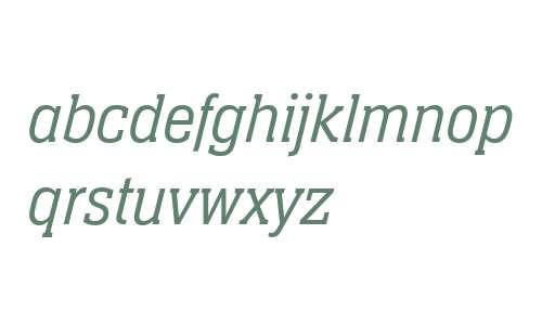 Neue Aachen W04 Light Italic