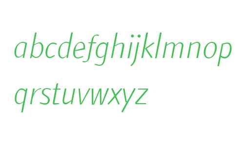 ATF ArumSans W01 Light Italic