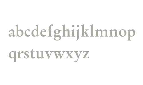 OriginalGaramond BT W08 Bold