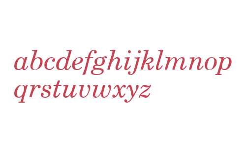 .VnCentury Schoolbook Italic