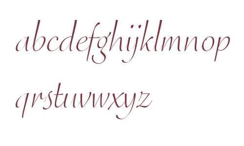 Eggo OT W03 Light Italic