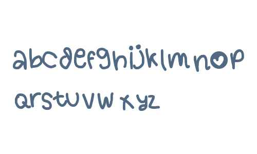 handy font 1 by OUBYC
