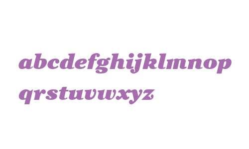 Cheltenham ITC W04 Ultra Italic