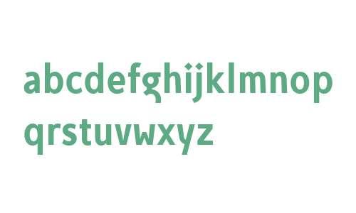 Egon Sans Condensed W01 A Bold
