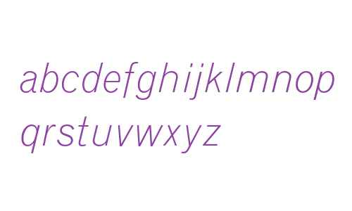 Grotesque MT Light Italic