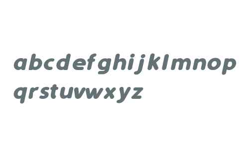 Simply Rounded Bold Italic