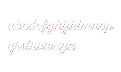 Thirsty Script W03 Md Shdw