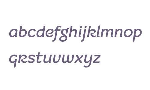 Fruitygreen W01 Italic
