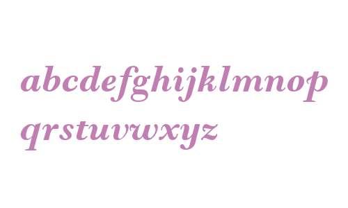 Goudy Modern MT W04 Bold Italic