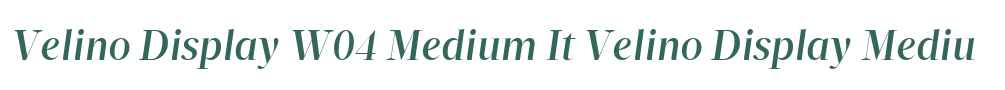Velino Display W04 Medium It