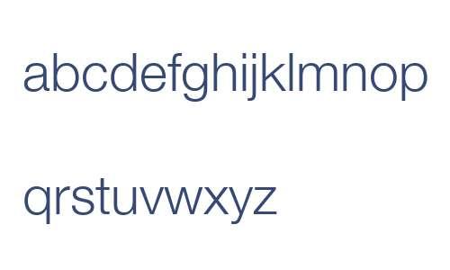 HelveticaNeue ME Light
