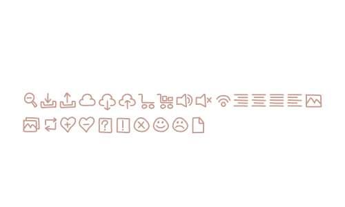 WG Handy Icons Vol2