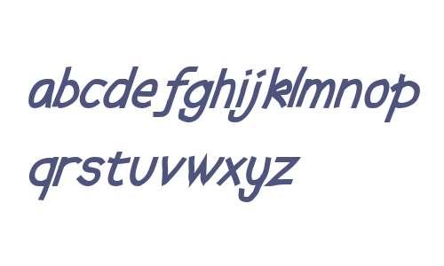 Abscissa Bold Italic V2