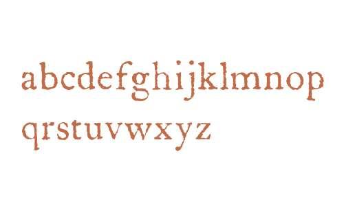 LetterpressText W00 Regular