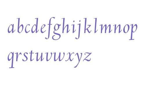 LTC Deepdene W00 Italic Swash